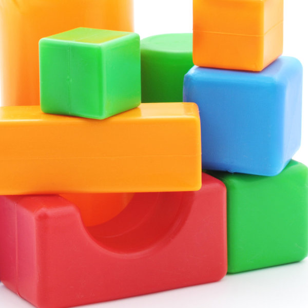 Colourful cube set